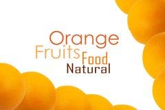 Orange bakgrund Royaltyfria Foton