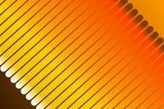 Orange bakgrund, abstrakt form Royaltyfri Bild