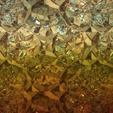 Orange bakgrund av smyckengemstonen Royaltyfri Fotografi