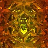 Orange bakgrund av smyckengemstonen Royaltyfri Bild