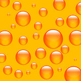 orange bakgrundsbollar vektor illustrationer