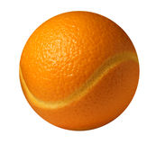 Orange ball Stock Photography