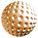 Orange ball Royalty Free Stock Photo