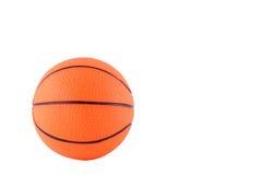 Orange ball. Isolated on the white background Royalty Free Stock Images