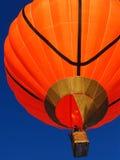 Orange Ballon Stockfoto