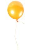 Orange Ballon mit Seil stockfoto