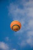 Orange balloon  Royalty Free Stock Photography