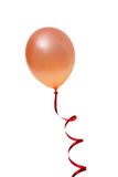 Orange balloon Royalty Free Stock Photography