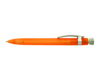 Orange ballpen Stockbilder