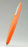 Orange ballpoint pen Stock Image