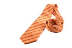 Orange band på vit Royaltyfri Foto