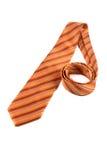 Orange band på vit Royaltyfri Bild