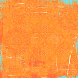 Orange Bandana Background Royalty Free Stock Photos