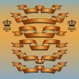 Orange Bandsatz Lizenzfreie Stockfotografie