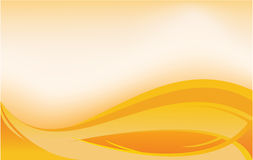 Orange banner Stock Images