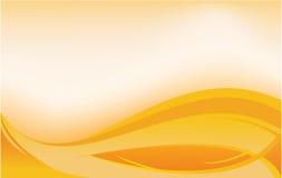 Orange banner Stock Images