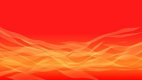 Orange banner background vector illustration