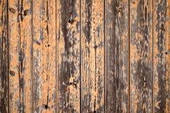 Orange barn wood background Royalty Free Stock Photos