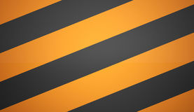 Orange barrier icon Royalty Free Stock Image