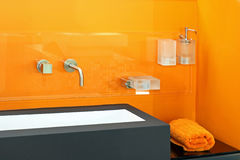 Orange basin Royalty Free Stock Photo