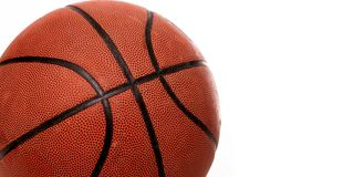 Orange basket ball Stock Photo