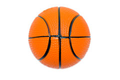 Orange basket ball Royalty Free Stock Image