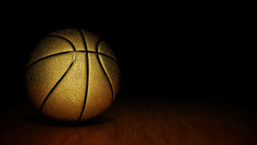 Orange basket ball. 3d rendering Stock Photo
