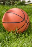 Orange basketball Stock Image