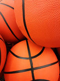 Orange basketball balls Royalty Free Stock Photography