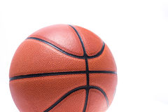 Orange basketball or basket ball Royalty Free Stock Images