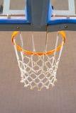 Orange Basketball Hoop Stock Images