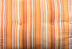 Orange Baumwollekissen-Beschaffenheit Stockfoto