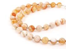Orange beads Royalty Free Stock Image