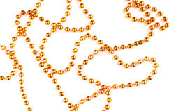 Orange beads Stock Photo