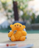Orange bear Royalty Free Stock Photo