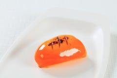 Orange bell pepper Stock Image