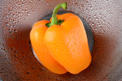 Orange Bell Pepper Royalty Free Stock Images