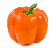 Orange bell pepper Stock Image