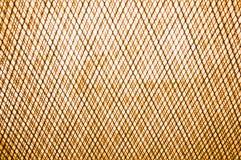 Orange Beschaffenheit aus Draht heraus oder steeckmetall als Hintergrund mit orange Tönung Stockfoto