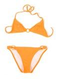 Orange Bikini stockbild