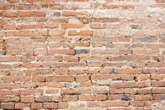 Orange birck wall. Old orange brick wall background Royalty Free Stock Image