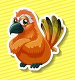 Orange bird Royalty Free Stock Photos