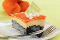 Orange Biscuit cake Royalty Free Stock Photos