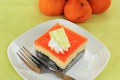 Orange Biscuit cake Royalty Free Stock Image