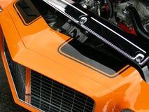 Orange and Black stock photography