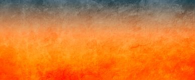 Orange and black background with distressed grunge texture, bold dramatic hot colors stock images