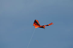 Orange and Black Kite Royalty Free Stock Images