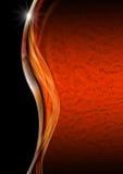 Orange Black and Metal Luxury Background royalty free illustration
