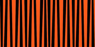 Orange and black striped halloween print. Abstract vertical striped pattern. Orange and black print. Background for wallpaper, web page, surface textures. Vector Royalty Free Stock Photography