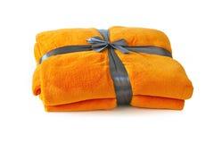 Orange Blanket Stock Photography